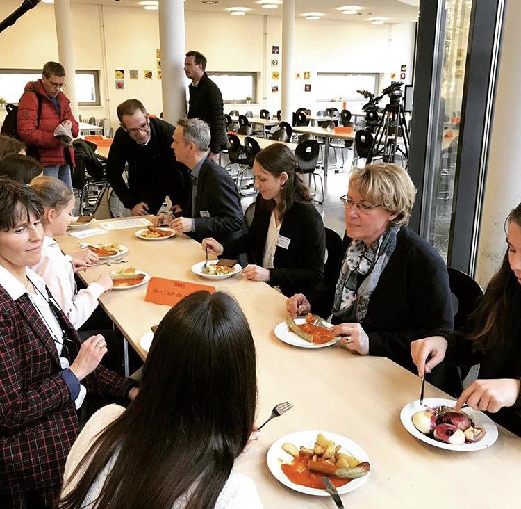 IN FORM-Projekt LM-Wertschätzung_Mittagessen mit Ministerin Otte-Kinast