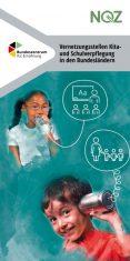 Cover NQZ-Flyer Vernetzungsstellen Kita-und Schulverpflegung in den Bundesländern