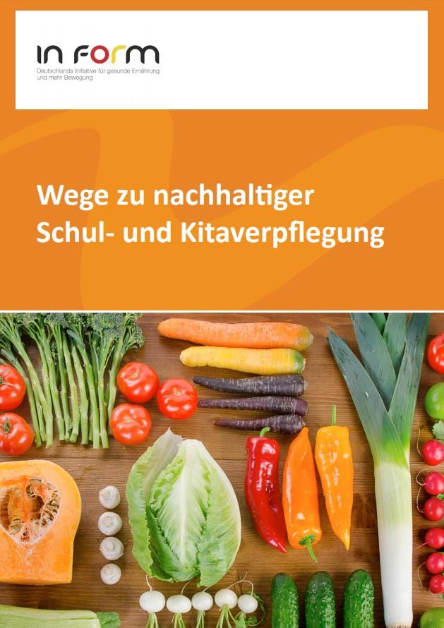 Cover der Broschüre zum IN_FORM-Projektes Wege zu einer nachhaltige SV