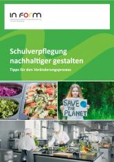 """Cover """"Wege zu nachhaltiger Schul- und Kitaverpflegung"""""""